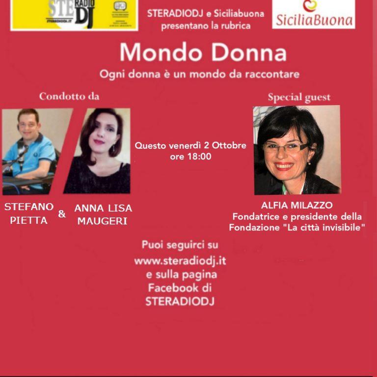 Mondo Donna: intervista ad Alfia Milazzo