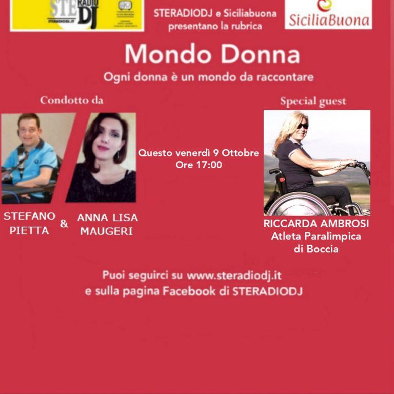 Mondo Donna: Intervista a Riccarda Ambrosi