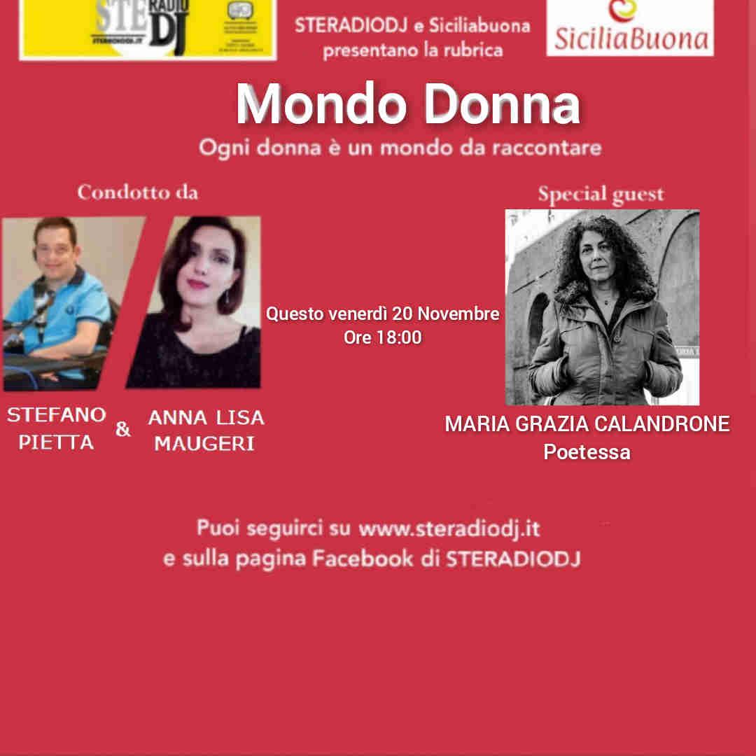 Intervista a Maria Grazia Calandrone