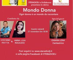 Mondo Donna: Intervista a CHIARA LENA