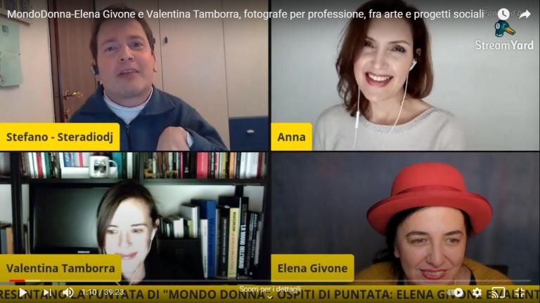 Elena Givone e Valentina Tamborra, fotografe per professione, fra arte e progetti sociali