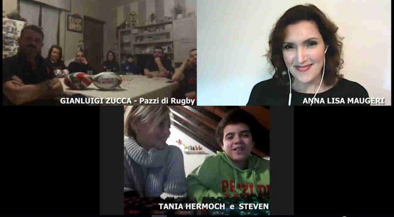 Steven, Tania e i Pazzi di Rugby